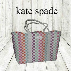 Kate Spade Limited Edition Large Woven Tote Bag